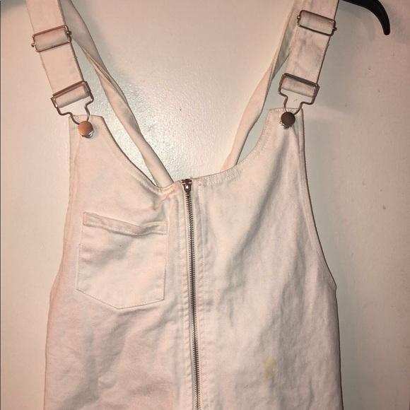 Forever 21 Dresses & Skirts - Overall White Dress